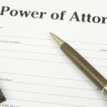 Power of attorney notes